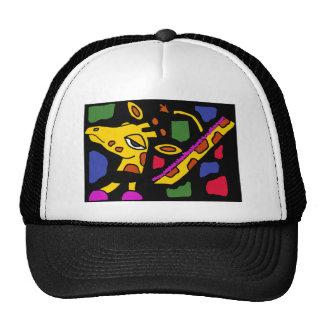 XX- Giraffe Cubist Art Trucker Hat