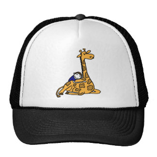 XX- Giraffe Hug Trucker Hat