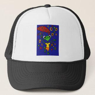 XX- Glorious Frog Dancing in the Rain Trucker Hat