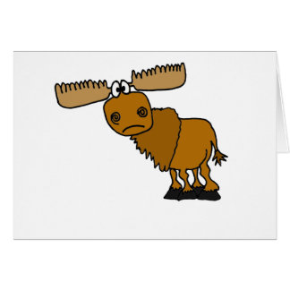 XX- Goofy Moose Design Card