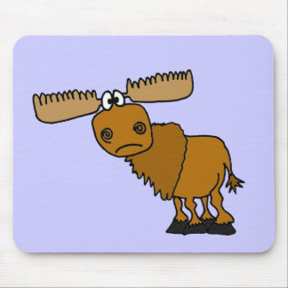 XX- Goofy Moose Design Mouse Pad
