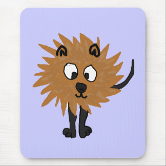 XX- Hairy Monster - IT Mouse Pad