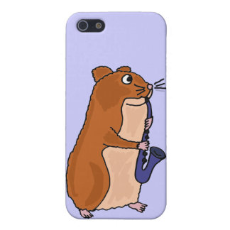 XX- Hamster Playing the Saxo iPhone SE/5/5s Cover