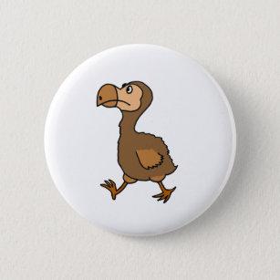 0941280a1e XX- Hilarious Dodo Bird Design Button