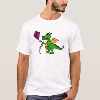 XX- Hilarious Dragon Flying Kite T-Shirt