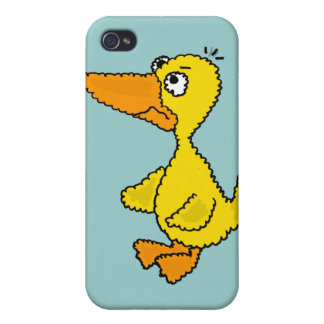 XX- Hilarious Duck Cartoon iPhone 4 Cover
