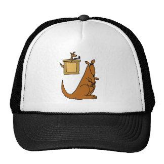 XX- Kangaroo Court Cartoon Trucker Hat