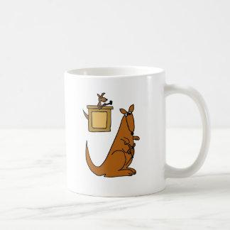 XX- Kangaroo Court Cartoon Classic White Coffee Mug