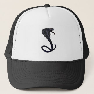 XX- King Cobra Snake Design Trucker Hat