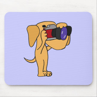 XX labrador retriever amarillo que toma las fotos Tapetes De Ratones