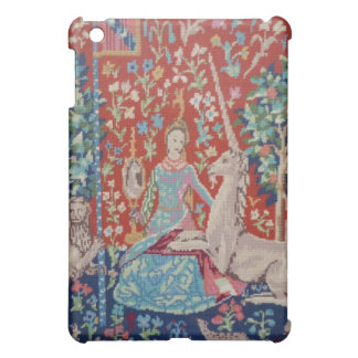 XX- Lady and the Unicorn Tapestry Art Design Case For The iPad Mini