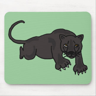 XX- Leaping Panther Mouse Pad