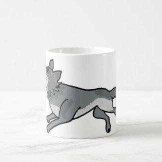 XX- Leaping Wolf Coffee Mug