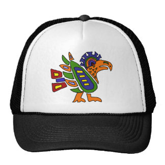 XX- Mexican Style Colorful Eagle Trucker Hat