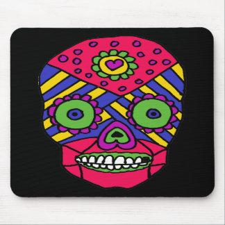 XX- Mixican Folk Art Skull Mouse Pad