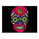 XX- Mixican Folk Art Skull Postcards