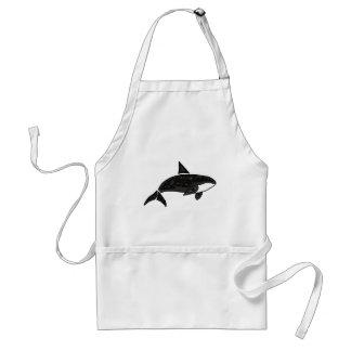 XX orca artística Delantales
