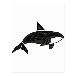 XX orca artística Postales