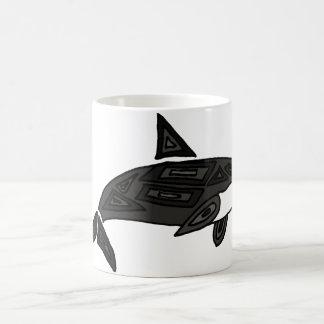 XX orca artística Taza