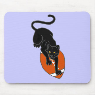 XX- Panther on a Football Art Design Mouse Pad