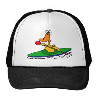 XX pato Kayaking divertido Gorras De Camionero