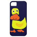 XX pato primitivo divertido del arte iPhone 5 Case-Mate Cobertura
