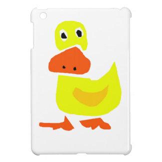 XX pato primitivo divertido del arte iPad Mini Carcasas