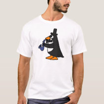 XX- Penguin Playing Saxophone T-Shirt