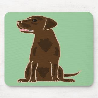 XX perro de perrito del labrador retriever del cho Alfombrilla De Raton