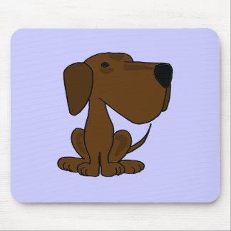 XX perro de perrito divertido de Labrador del choc Tapete De Raton