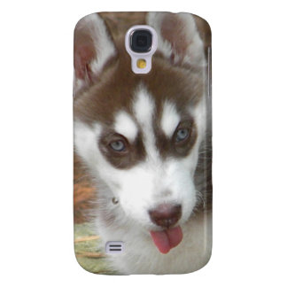 XX perro de perrito lindo del husky siberiano Funda Para Galaxy S4