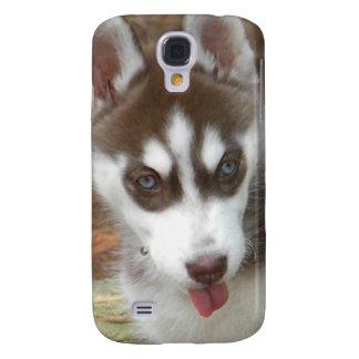 XX perro de perrito lindo del husky siberiano Funda Para Samsung Galaxy S4