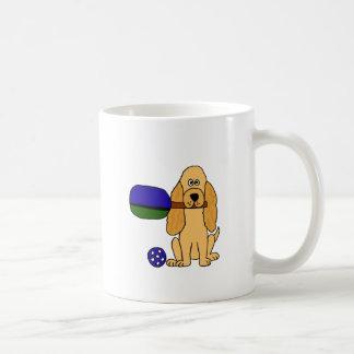 XX- Pickleball Cocker Spaniel Cartoon Coffee Mug
