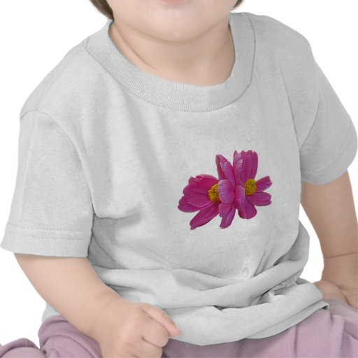 XX- Pink Peony Floral Photography Tee Shirts