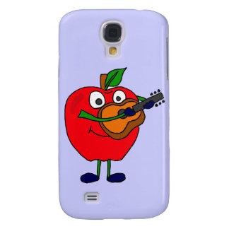 XX- Playing Guitar Cartoon Galaxy S4 Cover