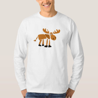 XX- Primitive Art Moose T-Shirt