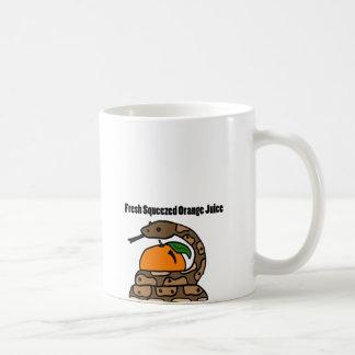 XX- Python Squeezing Orange Coffee Mug
