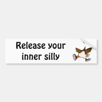 XX- Release Your Inner Silly - Goose Bumper Sticker