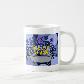 XX- Rubber Ducks and Bubbles Classic White Coffee Mug