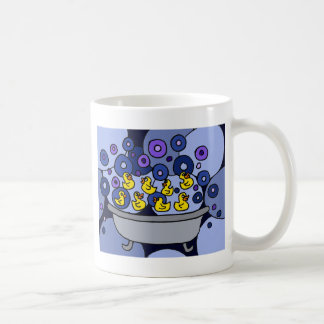 XX- Rubber Ducks and Suds Art Coffee Mug