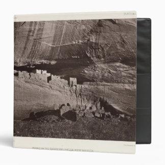 XX Ruins, Canon de Chelle, New Mexico Vinyl Binder