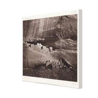 XX Ruins, Canon de Chelle, New Mexico Canvas Print