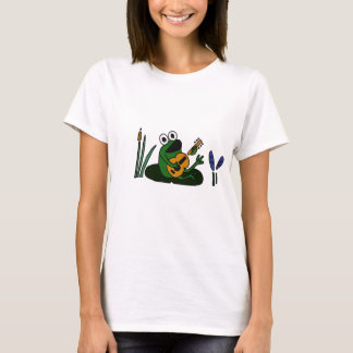 XX- Singing Frog with Guitar T-Shirt