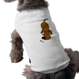 XX- Sniffing Hounddog Cartoon Pet Clothes