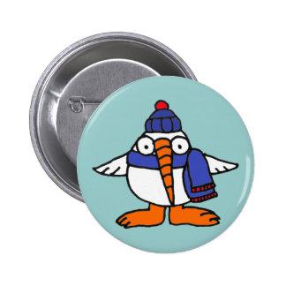 XX Snowbird magnífico del dibujo animado Pins