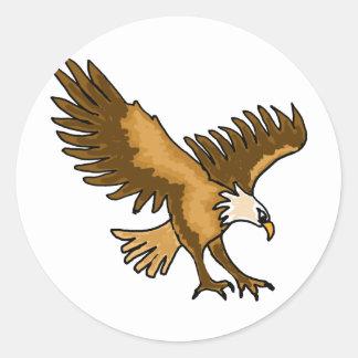 XX- Soaring Eagle Classic Round Sticker