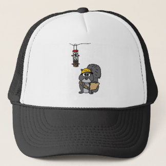 XX- Squirrel Engineer Trucker Hat