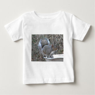 XX- Squirrel in a Birdbath Photography Baby T-Shirt