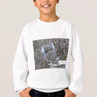 XX- Squirrel in a Birdbath Photography Sweatshirt