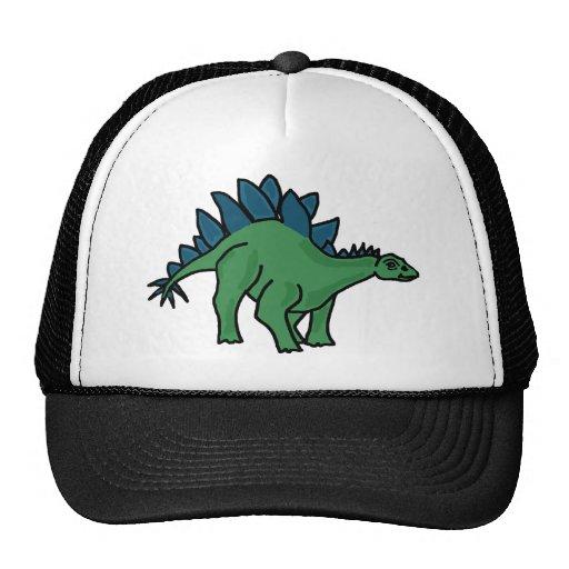 XX- Stegosaurus Dinosaur Cartoon Mesh Hat